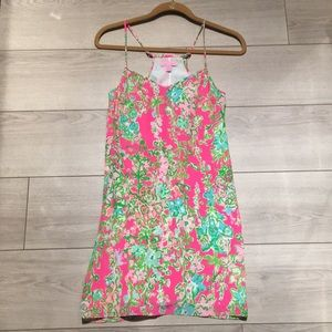 Lilly Pulitzer Dusk Silk Dress, Southern Charm